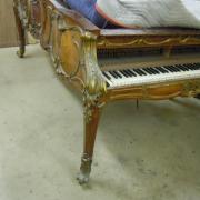 1 Restauration d'un piano Erard en palissandre