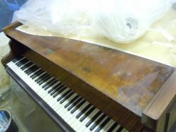 1 Restauration d'un piano Erard en palissandre.